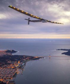 Solar Impulse 2 Completes Historic Flight Over Pacific