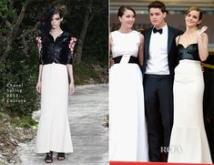 Emma Watson In Chanel Couture - The Bling Ring Cannes Film Festival Premiere