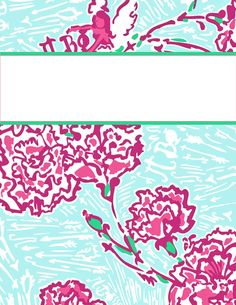 Tons of super cute binder cover designs that work great as iPhone wallpaper too!