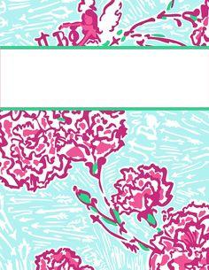 Vera Bradley & Lily Pulitzer Binder Covers