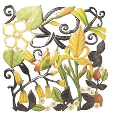 Tropical Garden Wall Hanging #tenthousandvillages #fairtrade #haiti #wallhanging