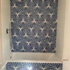 Honeycomb Tile, Honeycomb Pattern, Hex Tile, Hexagon Tiles, Gray Hex, Denim Decor, Lily Pad, Wow Products, Tile Design