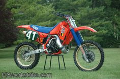 1987 Honda RC250M - Eric Geboers 250 World Champion