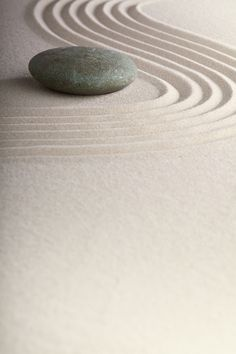 Love how Zen sand imitates water!