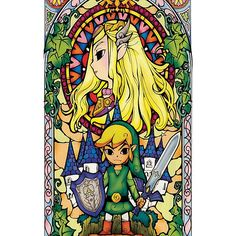 Zelda - Stained Glass Case iPhone case $34.10