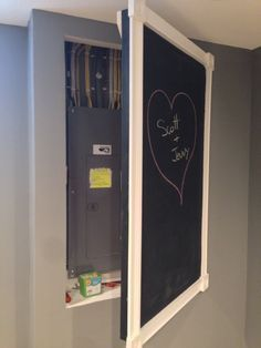 hide electrical panel - Google Search                              …