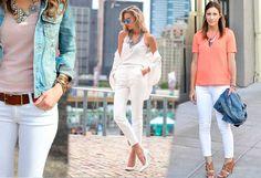 White Jeans, Pants, Ideas, Style, Fashion, Trouser Pants, Swag, Moda, Fashion Styles