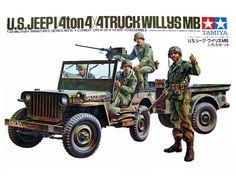 35015 U.S. Jeep Willys MB (1/35 Military Miniature Series) 1972/05/01 ¥350