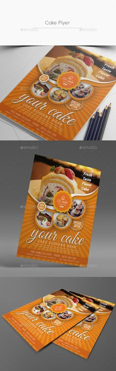 Cake Flyer - Corporate Flyers