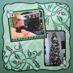 Me and My Cricut | Christmas Scrapbook Album 2 | http://meandmycricut.com
