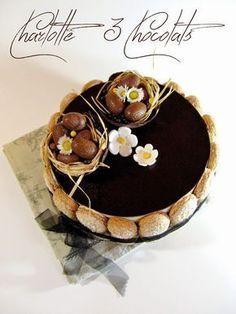 J'en reprendrai bien un bout...: Charlotte 3 Chocolats....
