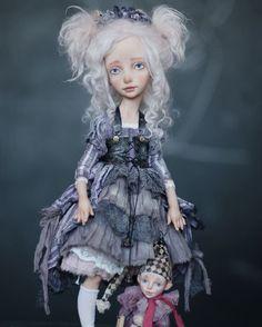 """По мотивам сказки """"Пиноккио""""  Мир может быть волшебным. Если ты захочешь (с).  __________________________  Все куклы проекта находятся в частных коллекциях.  Sold.  Фото: Элина Оплаканская."""
