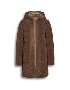 Beaumont Reversible Hooded Long Coat Jacket|Coats|Jackets|Irish Handcrafts -4