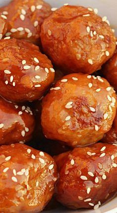 Crock Pot Honey Teriyaki Chicken Meatballs