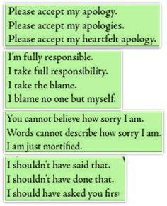 Forum | ________ Learn English | Fluent LandMany Ways to Say Apology | Fluent Land