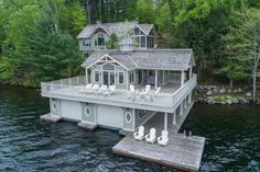 Ideal Muskoka Cottage Location On Lower Lake Joesph, Ontario - with beautiful boathouse!
