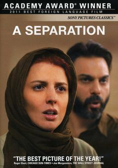 A Separation (....emotions, emotions.  This movie will stay with you for a long time.  Perfection!)