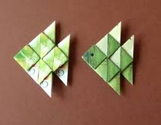 Origami for Everyone – From Beginner to Advanced – DIY Fan Origami Yoda, Origami Mouse, Origami Star Box, Origami Dragon, Origami Stars, Origami Paper, Diy Paper, Paper Crafts, Origami Fish Easy