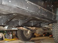 2000 jeep cherokee subframe reinforcement - Google Search