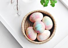 14 Simply Gorgeous Easter Egg Decorating Ideas via @PureWow