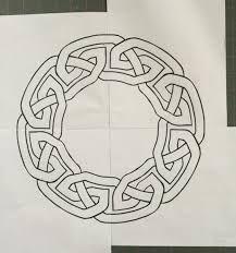 Afbeeldingsresultaat voor drawing tutorial celtic knot