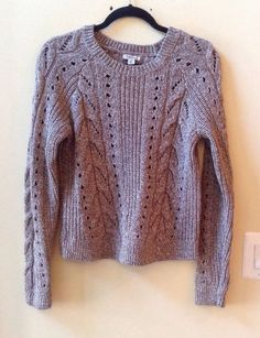 NWT LUCKY BRAND WOMEN'S MULTI-COLOR WOOL BLEND LONG SLEEVE SWEATER SZ S-$79.50 #LUCKYBRAND #BoatNeck