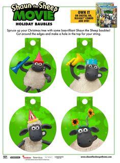 FREE Printable Shaun the Sheep Birthday Invitation | Kids' Parties ...