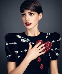 emotinal fashion   Anne Hathaway