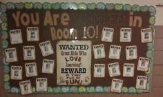 Wanted: Students for Room 10! | 31 Incredible Bulletin Boards For Back To School