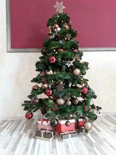 Christmas tree decoration ideea