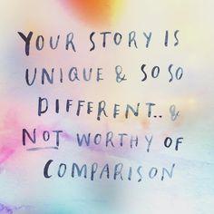 No one is you-er than you. (via @mindbodygreen)