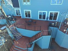 Stunning Multi-Level Deck on Lake Murray - Design Ideas - Archadeck Deck Design Plans, Deck Plans, Cool Deck, Diy Deck, Porch Builders, Freestanding Deck, Pool Prices, Hardwood Decking, Cedar Deck