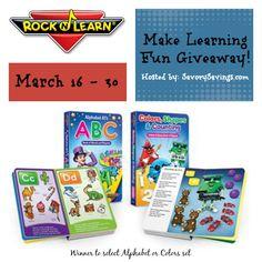 Rock n Learn Make Learning Fun Giveaway March 16 - 30