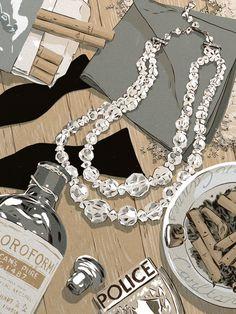 Carlton Cannes Jewelry Heist  by Matthew Woodson, via Behance