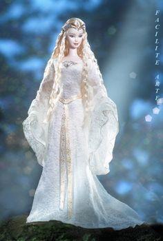 Facilite Sua Arte: 2004 - Barbie® Doll as Galadriel