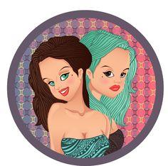 Творчество нашего дизайнера - близницы