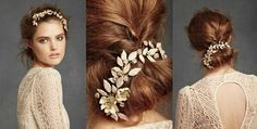 Alternative bridal wedding hair styles