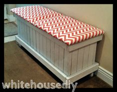 Chevron Shoe Bench | Do It Yourself Home Projects from Ana White