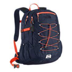 The North Face, Borealis Backpack, Cosmic Blue/Zion Orange Orange Backpacks, Men's Backpacks, Trendy Backpacks, Leather Backpacks, Hiking Gear, Hiking Backpack, Puppy Backpack, Back To School Backpacks, Back To School Shopping