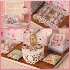 DIY Angel Dream Kits Wood Dollhouse miniature Furniture von AHBox