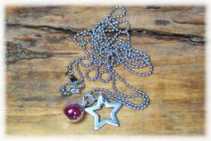 """Ketten lang - lange Halskette """"GlitterStar"""" - ein Designerstück von DaiSign bei DaWanda"""
