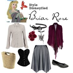 Briar Rose, created by style-disneyfied.polyvore.com