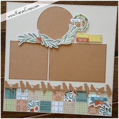 Posts about Creative Memories Border Maker Ideas written by Karyn McDermaid-Rolfe Scrapbook Borders, Scrapbook Sketches, Scrapbook Page Layouts, Scrapbook Cards, Scrapbooking Ideas, Scrapbook Templates, Scrapbook Designs, Orange Paper, Printing On Burlap