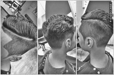Undercut with hard part taper fade Modern Haircuts, Haircuts For Men, Taper Fade Haircut, Hard Part, Undercut Hairstyles, Cut And Color, Different Styles, Hair Cuts, Stylish