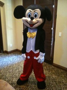 Mickey Mouse Professional Mascot Costume