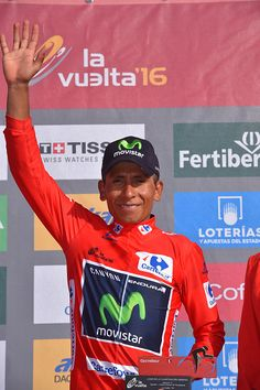 71st Tour of Spain 2016 / Stage 17 Podium / Nairo QUINTANA Red Leader…