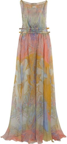 Pin for Later: Perfect Maxi Dresses to Wear to Summer Weddings Emilio Pucci Printed Silk-chiffon Maxi Dress Emilio Pucci Printed Silk-chiffon Maxi Dress (£1,025, originally £2,050)