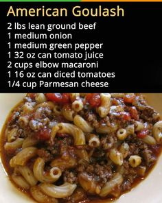 Simple Goulash Recipe -- 6 minutes in the pressure cooker