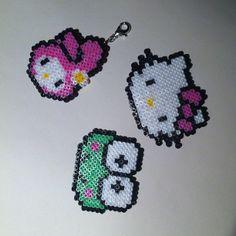 Sanrio characters hama mini beads by buryyourhead
