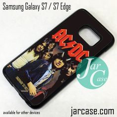 Ac Dc Crews Phone Case for Samsung Galaxy S7 & S7 Edge